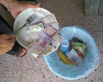 Cúanto nos cuesta enterrar basura
