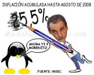 Moreno: el soldado de Kirchner