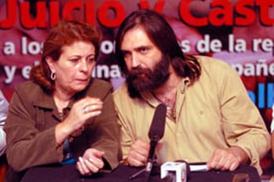 Mirta Petrucini y Roberto Baradel