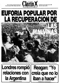 Tapa Claín del 3 de abril de 1982