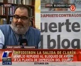 Debut en Clarín